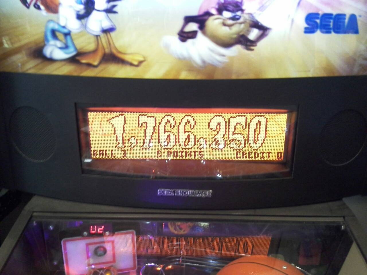 Space Jam 1,766,350 points