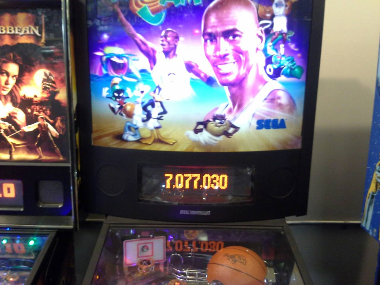 Space Jam 7,077,030 points