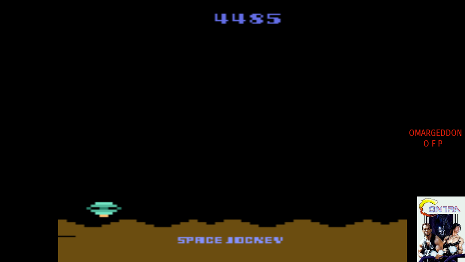 omargeddon: Space Jockey (Atari 2600 Emulated Expert/A Mode) 4,485 points on 2017-08-04 23:55:36