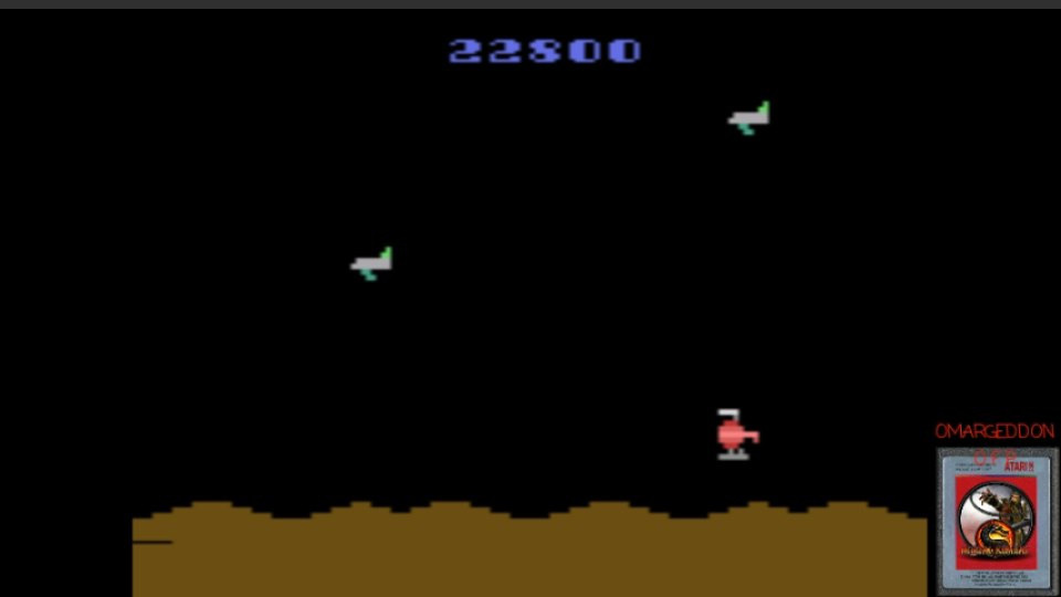 omargeddon: Space Jockey (Atari 2600 Emulated Novice/B Mode) 22,800 points on 2017-03-24 02:49:12