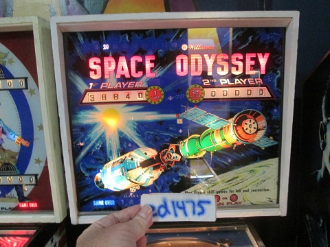 ed1475: Space Odyssey (Pinball: 3 Balls) 38,840 points on 2018-09-07 15:40:09