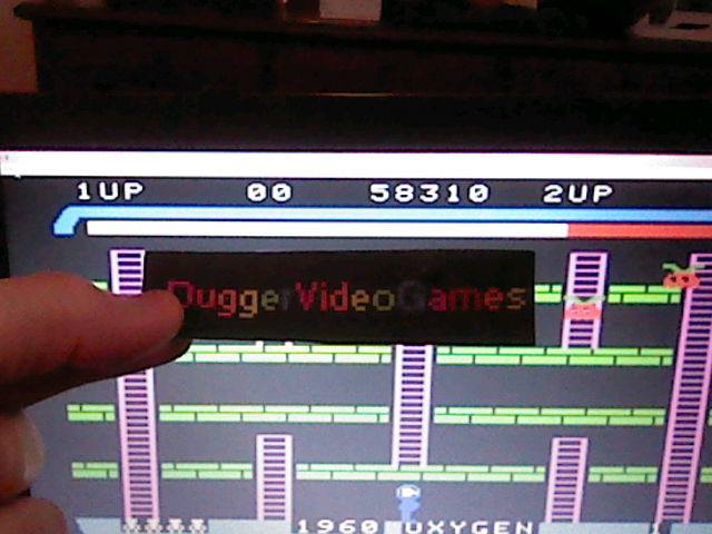 DuggerVideoGames: Space Panic (Colecovision Emulated) 58,310 points on 2018-01-24 09:15:39