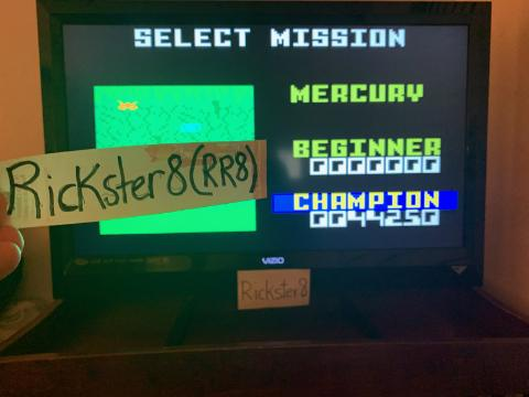 Rickster8: Space Patrol: Mercury Champion (Intellivision Emulated) 44,250 points on 2020-10-08 20:43:56