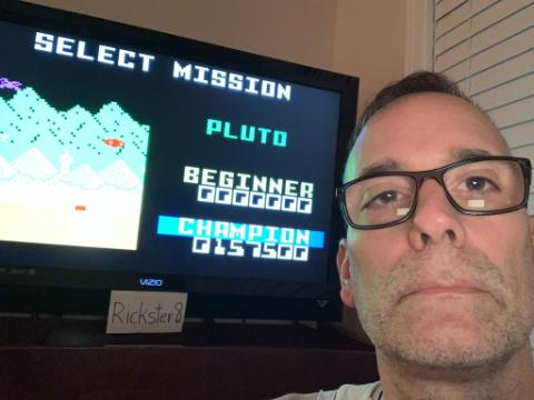 Rickster8: Space Patrol: Pluto Champion (Intellivision Emulated) 157,500 points on 2020-10-09 22:29:24