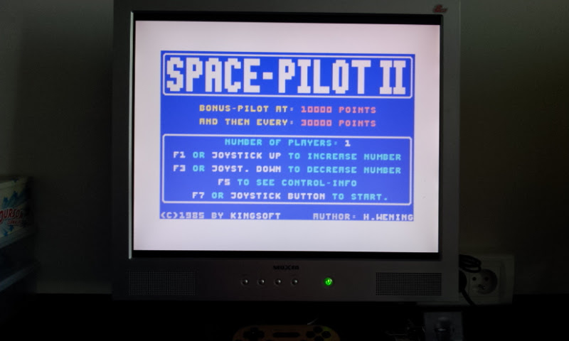 Larquey: Space Pilot II (Commodore 64 Emulated) 48,500 points on 2017-08-30 08:09:20