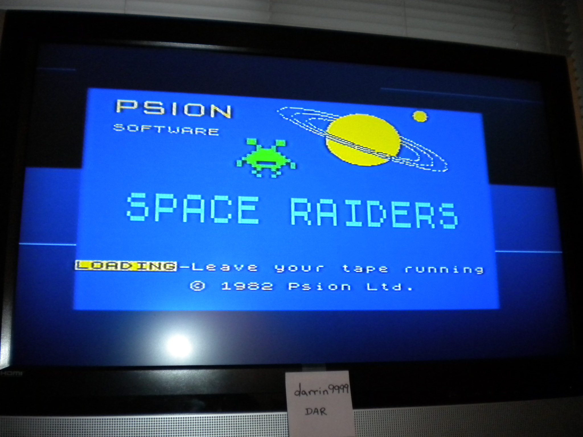 darrin9999: Space Raiders (ZX Spectrum Emulated) 4,230 points on 2016-12-12 15:41:00