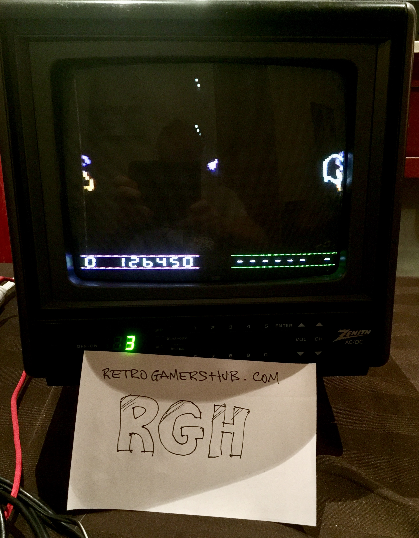 RetroGamersHub: Space Rocks (Atari 2600) 126,450 points on 2020-06-20 01:17:15