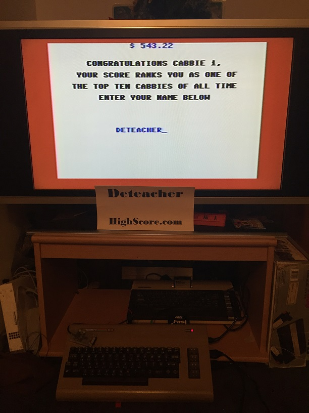 Deteacher: Space Taxi (Commodore 64) 543 points on 2015-09-12 18:26:43