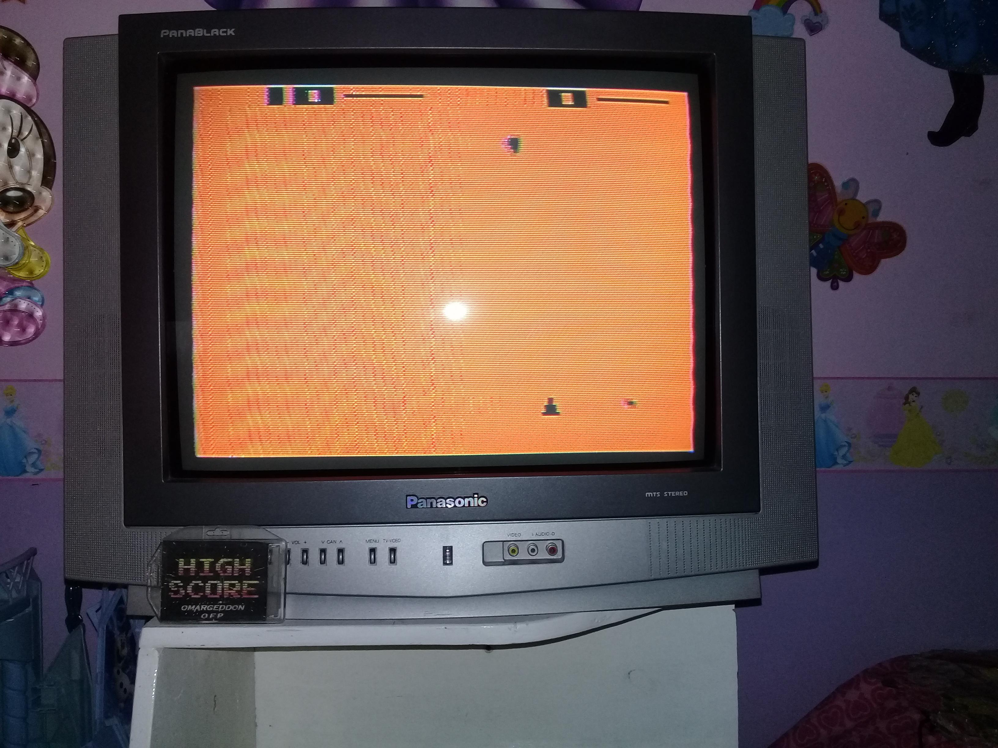 omargeddon: Space War: Game 9 (Atari 2600 Novice/B) 10 points on 2019-06-04 15:07:07