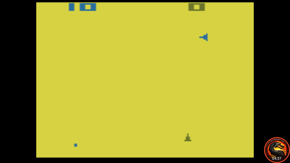 omargeddon: Space War: Game 9 (Atari 2600 Emulated Expert/A Mode) 10 points on 2020-08-31 11:52:21
