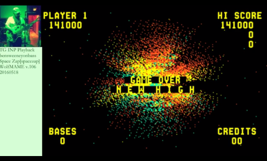 bensweeneyonbass: Space Zap (Arcade Emulated / M.A.M.E.) 141,000 points on 2016-05-20 07:31:43