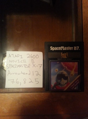 Spacemaster X-7 76,825 points