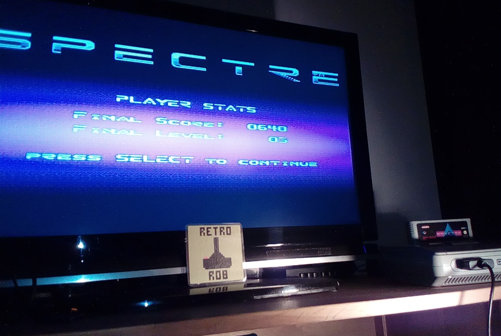 RetroRob: Spectre (SNES/Super Famicom) 640 points on 2019-12-22 14:08:54