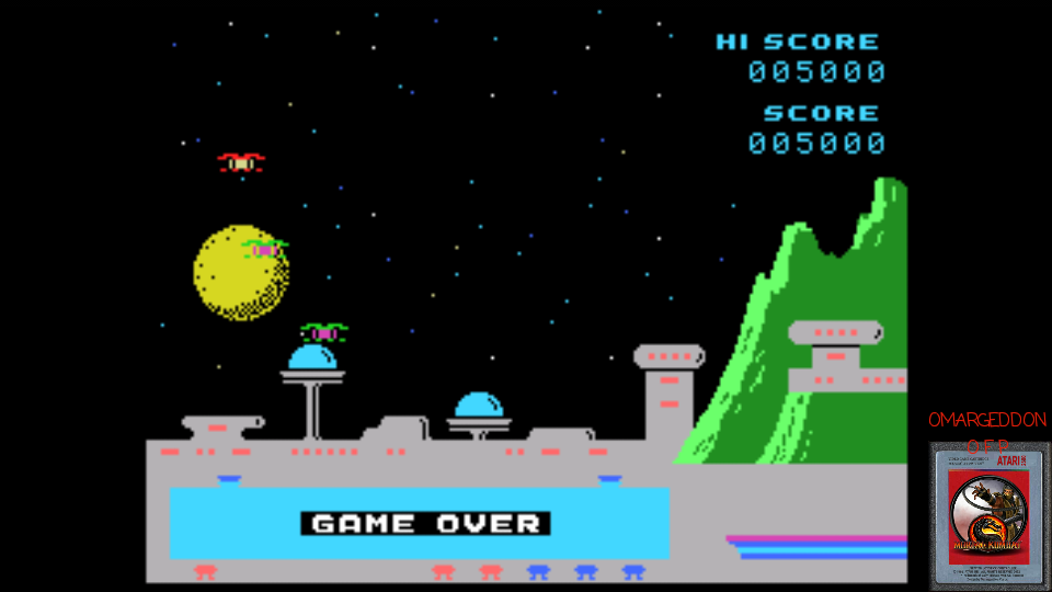 omargeddon: Spectron: Skill 1 (Colecovision Emulated) 5,000 points on 2017-03-20 01:07:45