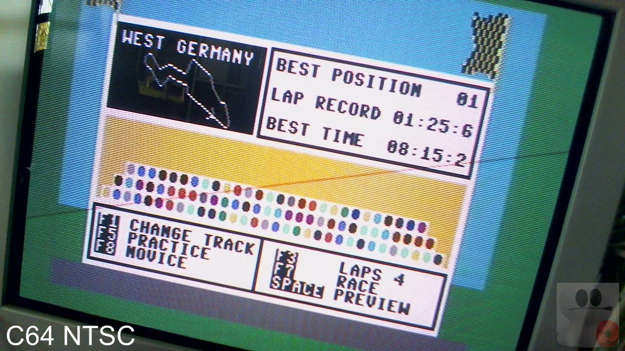 GTibel: Speed King [West Germany / Novice / Lap Record] (Commodore 64) 0:01:25.6 points on 2020-04-12 05:55:41