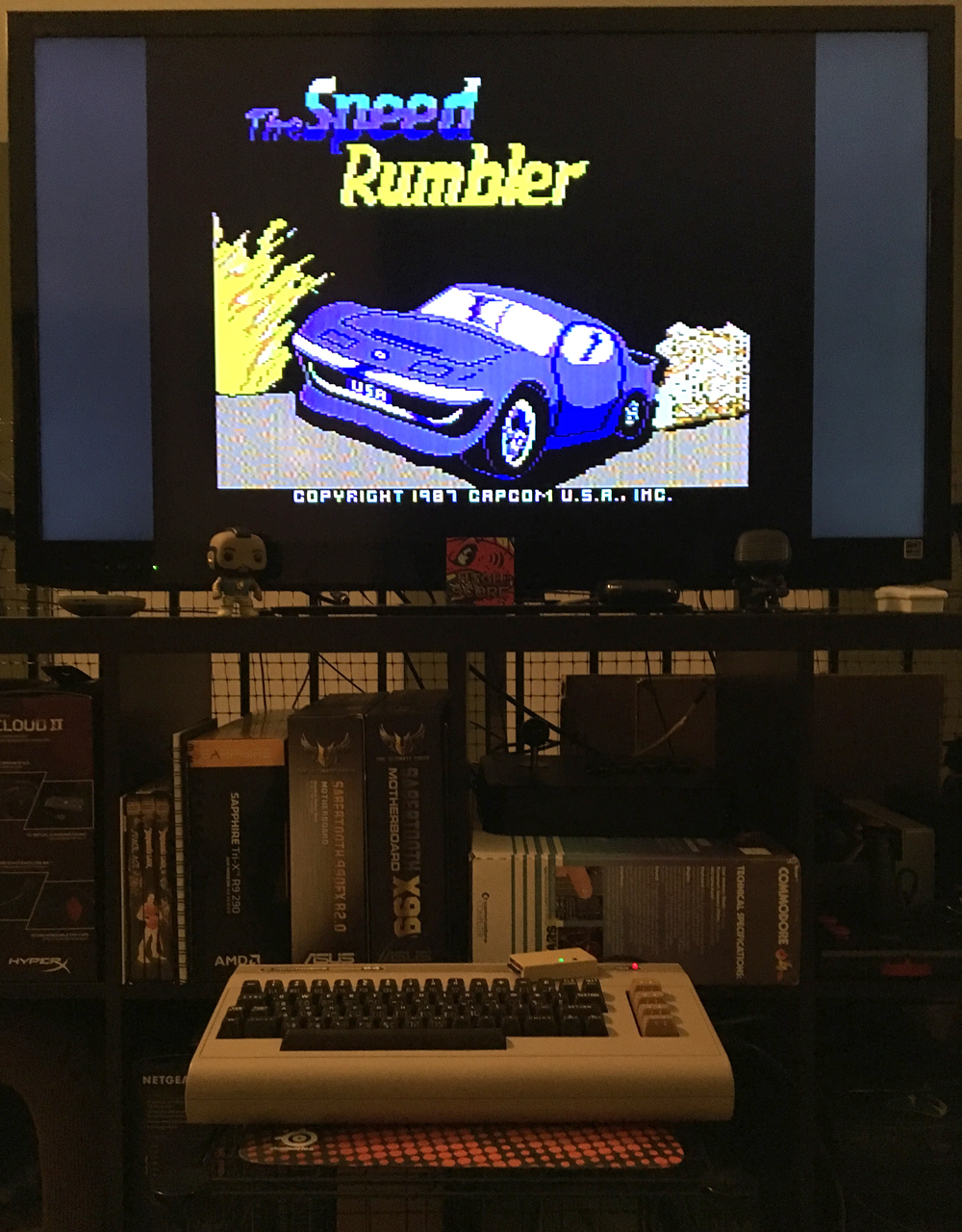 ILLSeaBass: Speed Rumbler (Commodore 64) 57,300 points on 2017-04-28 23:33:23