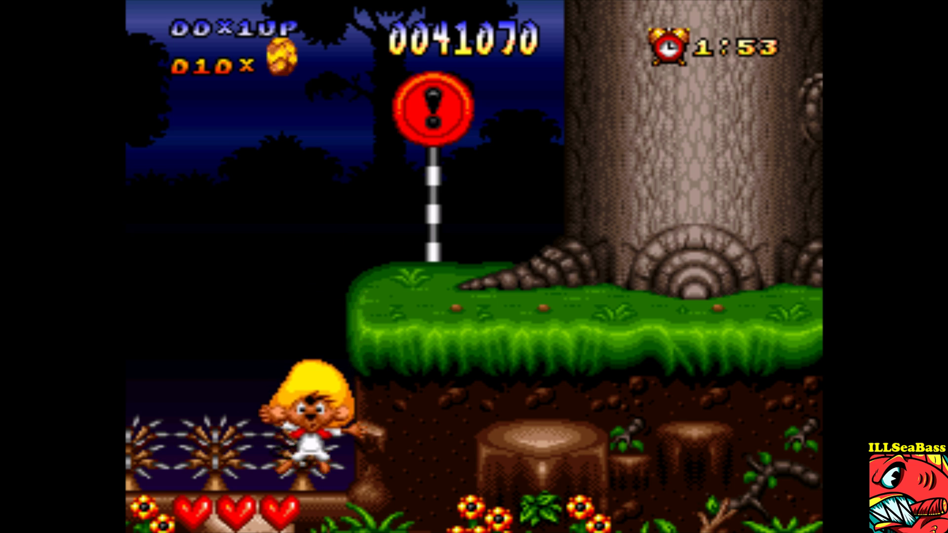 ILLSeaBass: Speedy Gonzales in Los Gatos Bandidos (SNES/Super Famicom Emulated) 41,070 points on 2017-09-16 23:52:18
