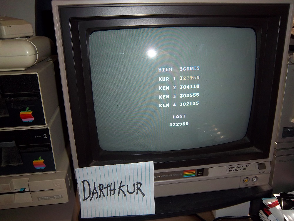 darthkur: Spelunker (Commodore 64) 322,950 points on 2016-04-20 20:10:33