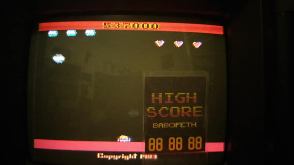 BabofetH: Spider Fighter (Atari 2600 Expert/A) 537,000 points on 2020-07-24 18:53:10