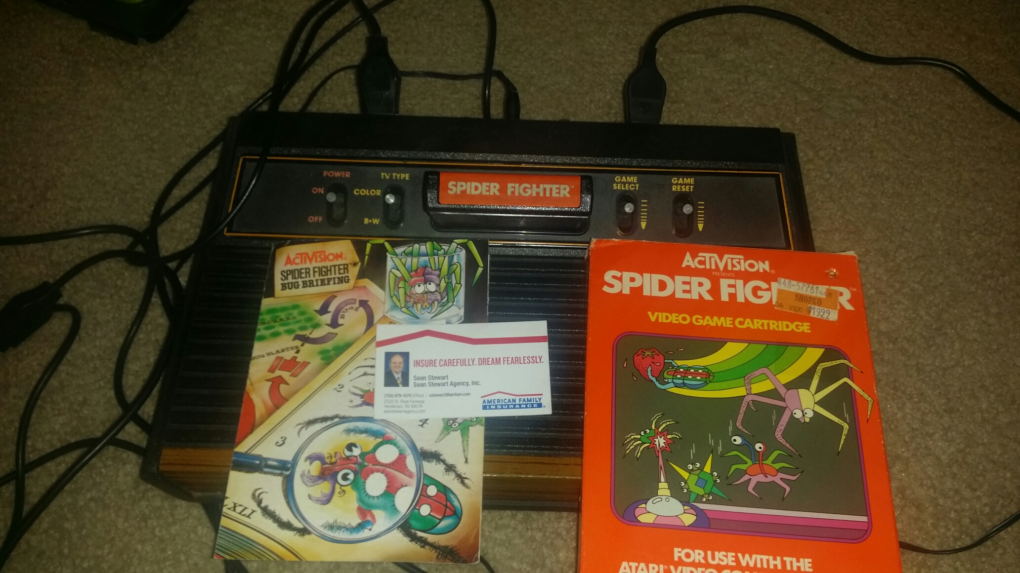 Spider Fighter 12,520 points
