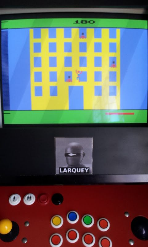 Larquey: Spider-Man (Atari 2600 Emulated) 180 points on 2017-06-11 08:53:11