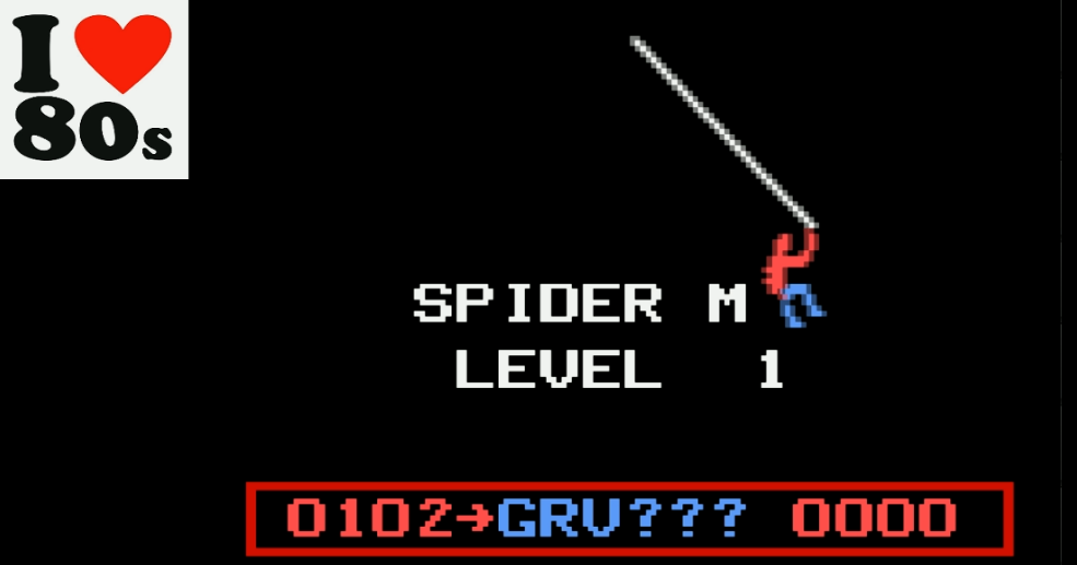 Giorvam: Spider-Man (Odyssey 2 / Videopac Emulated) 102 points on 2018-01-31 05:48:16