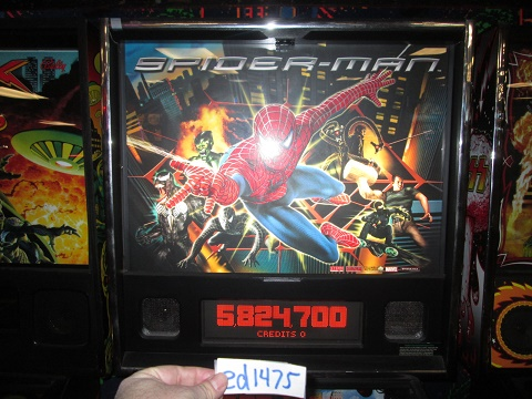 ed1475: Spider-Man (Pinball: 3 Balls) 5,824,700 points on 2017-02-12 16:03:51