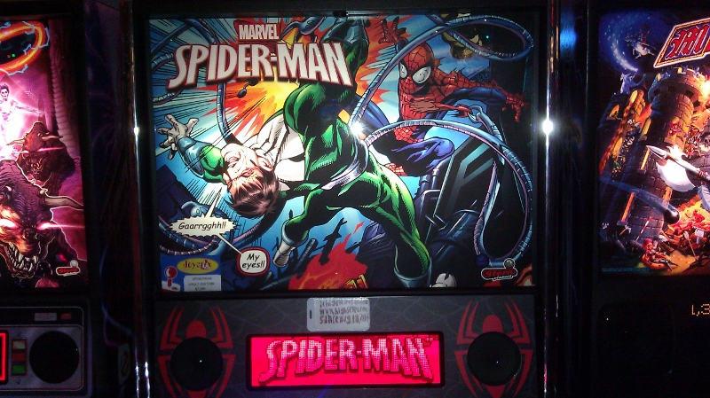 ichigokurosaki1991: Spider-Man [Vault Edition] (Pinball: 3 Balls) 38,656,350 points on 2016-05-28 02:37:13