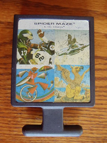atari2600forever: Spider Maze / Inca Gold / Spider Kong / Spider Monster (Atari 2600) 920 points on 2017-05-19 03:31:01