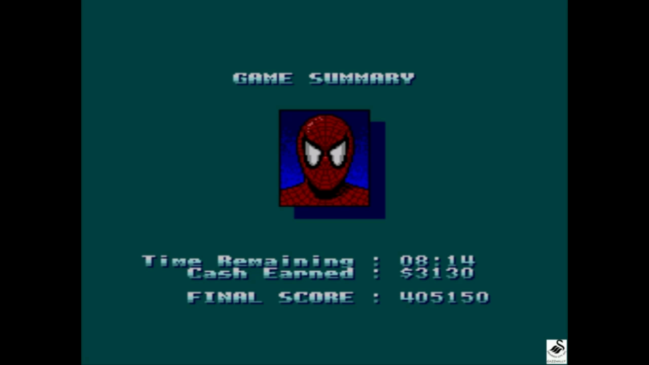 Spiderman vs The Kingpin [Difficult] 405,150 points