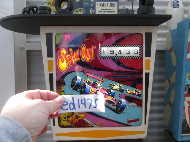 ed1475: Spin Out (Pinball: 3 Balls) 19,430 points on 2017-01-15 16:50:30