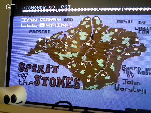 GTibel: Spirit of the Stones (Commodore 64) 3 points on 2016-11-28 08:46:39