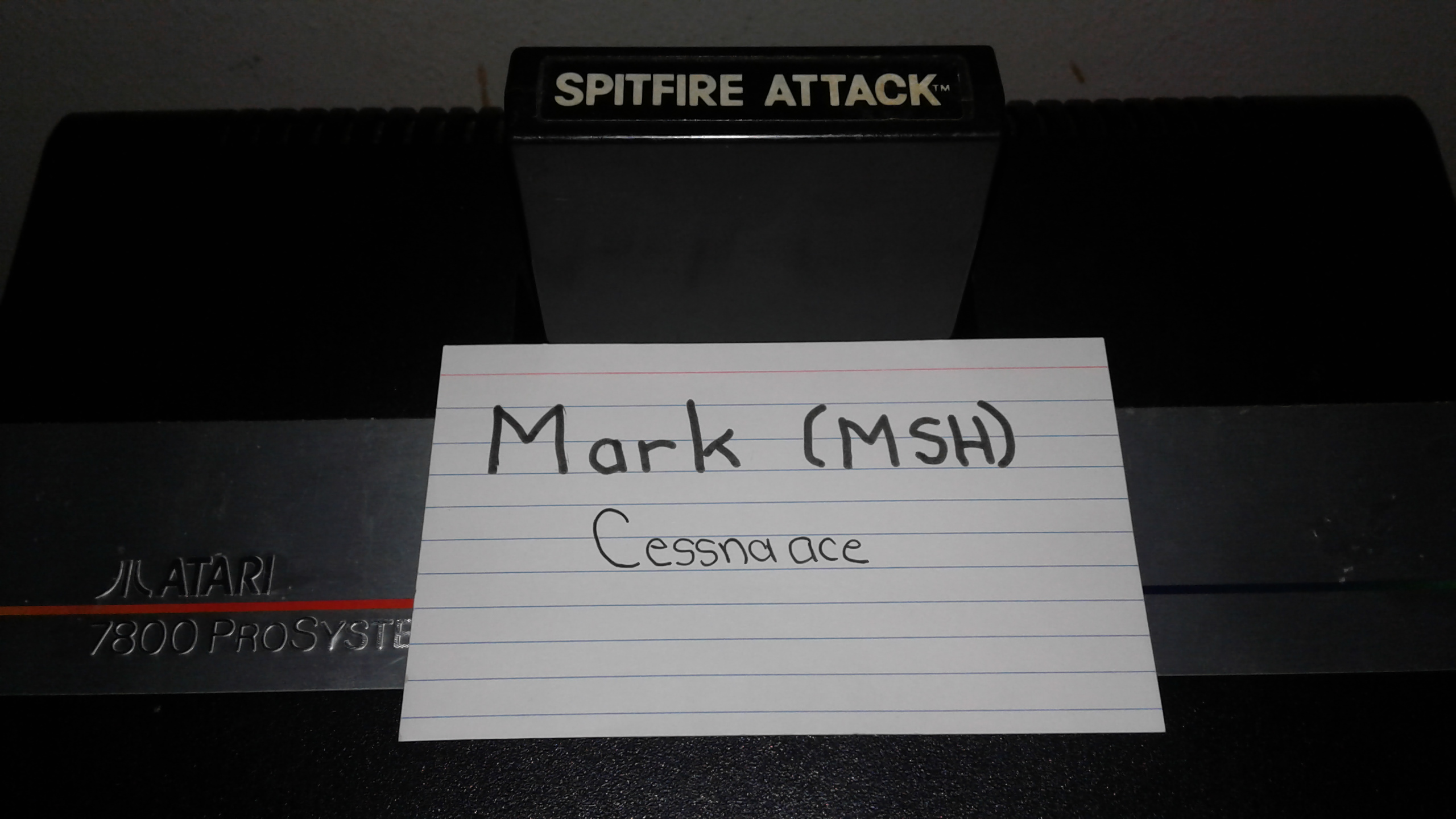 Mark: Spitfire Attack (Atari 2600 Novice/B) 25,500 points on 2019-04-27 00:52:54