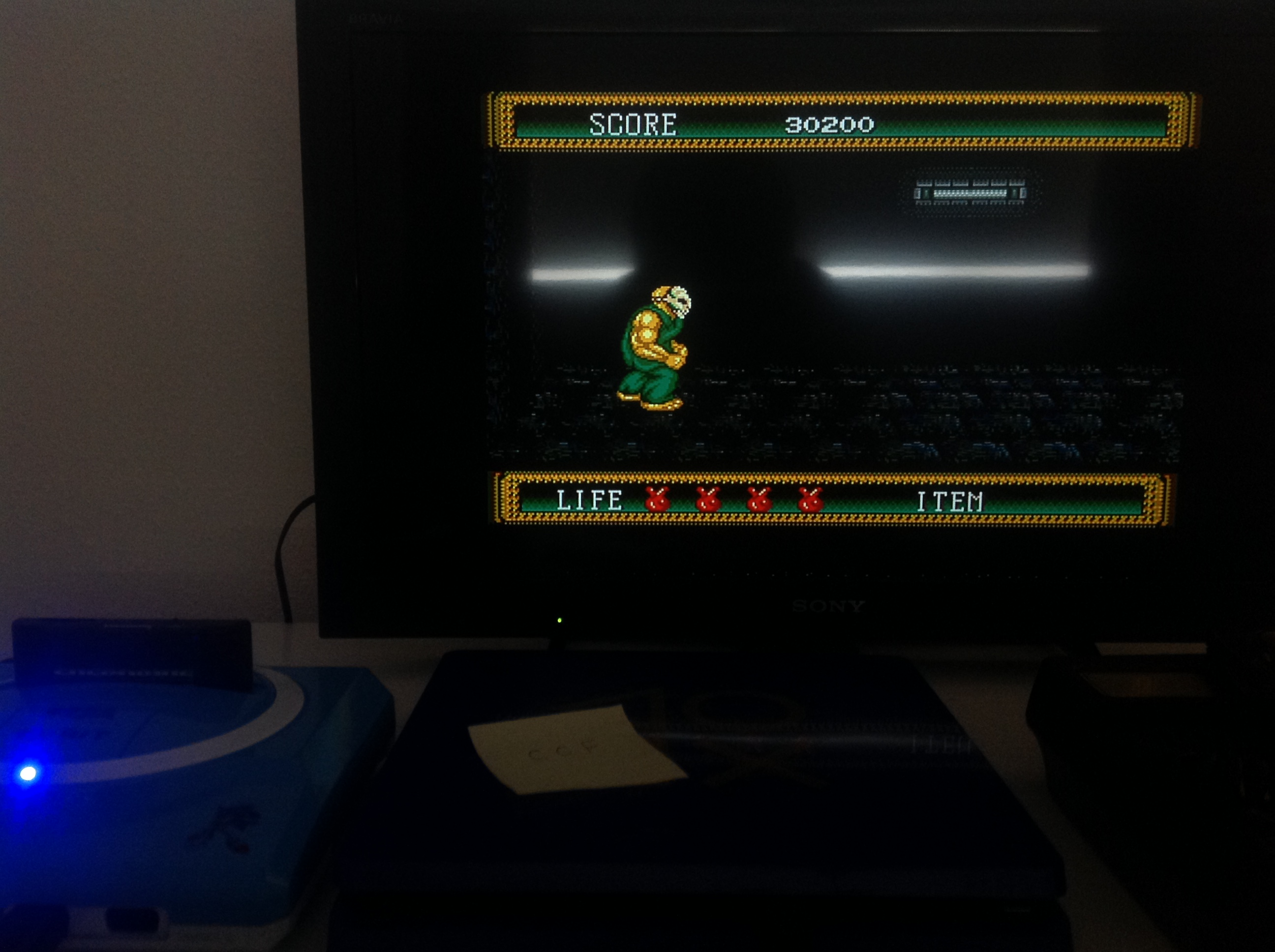 CoCoForest: Splatterhouse 2 (Sega Genesis / MegaDrive) 30,200 points on 2018-07-21 05:38:58
