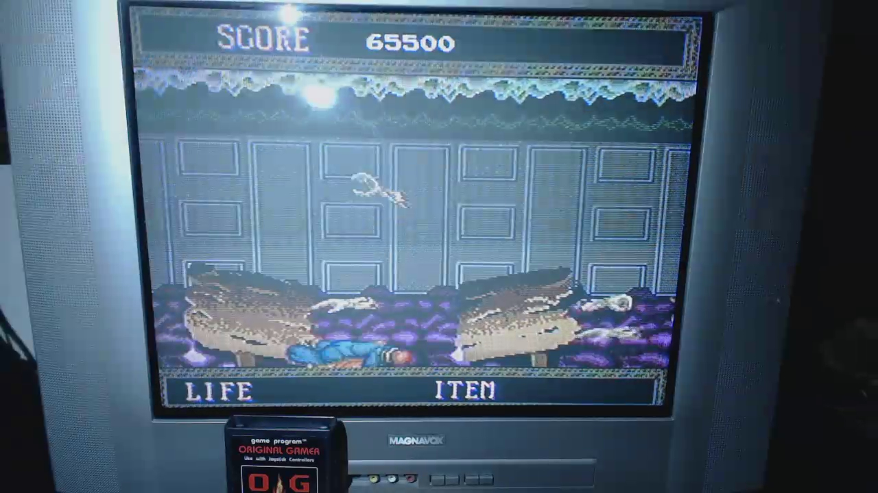 OriginalGamer: Splatterhouse (TurboGrafx-16/PC Engine) 65,500 points on 2016-04-30 15:59:36
