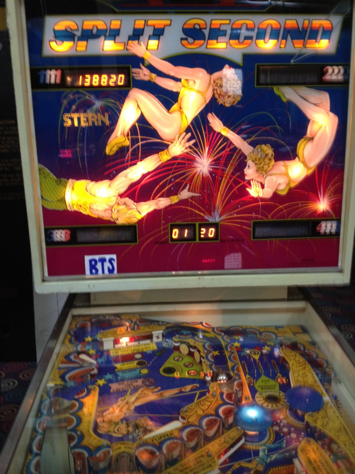 bensweeneyonbass: Split Second (Pinball: 3 Balls) 138,820 points on 2016-03-21 09:10:25