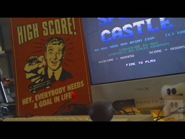 GTibel: Spooky Castle (Commodore 64) 950 points on 2019-05-17 10:02:41
