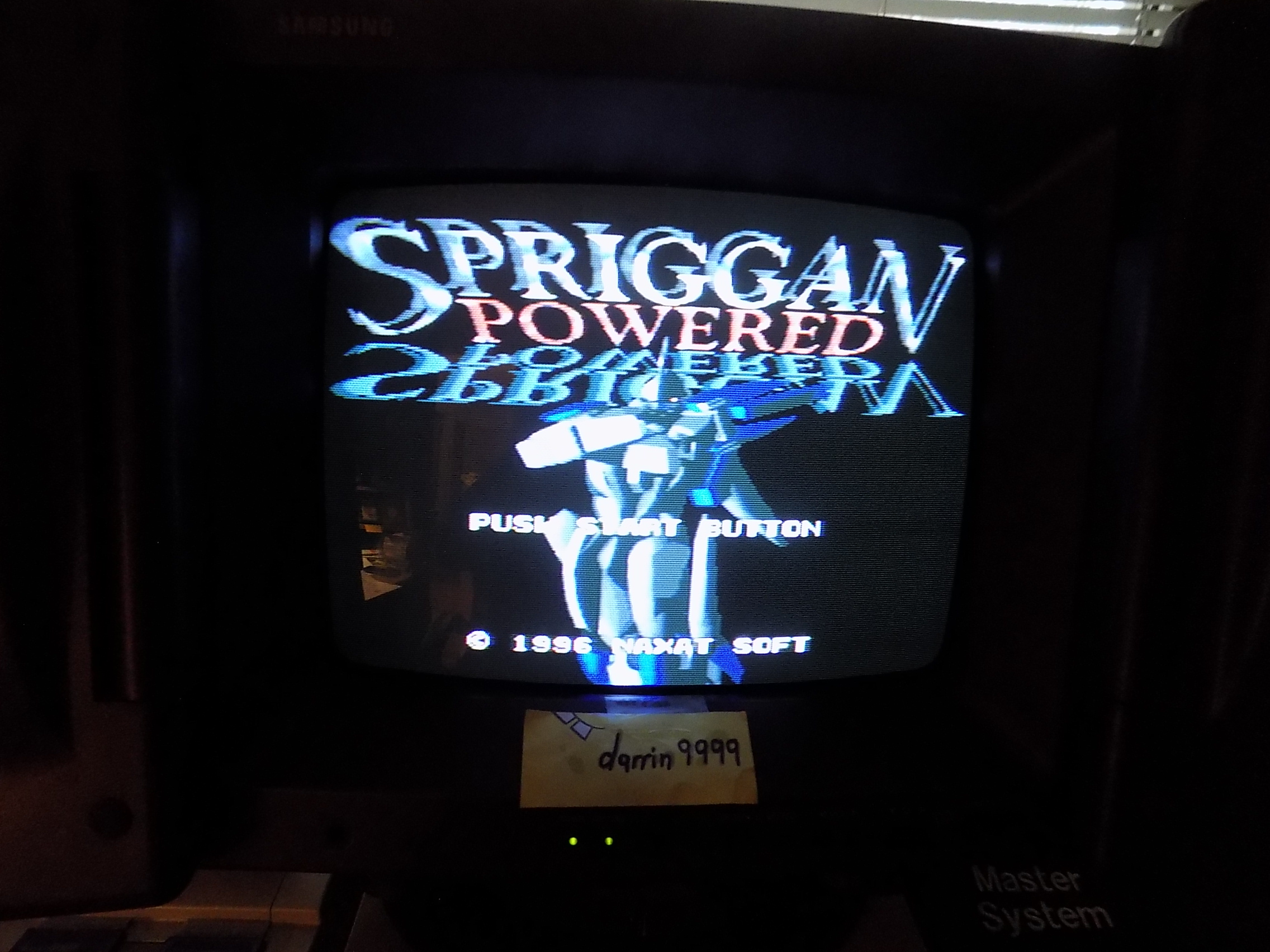 darrin9999: Spriggan Powered (SNES/Super Famicom) 78,500 points on 2019-06-09 17:43:34