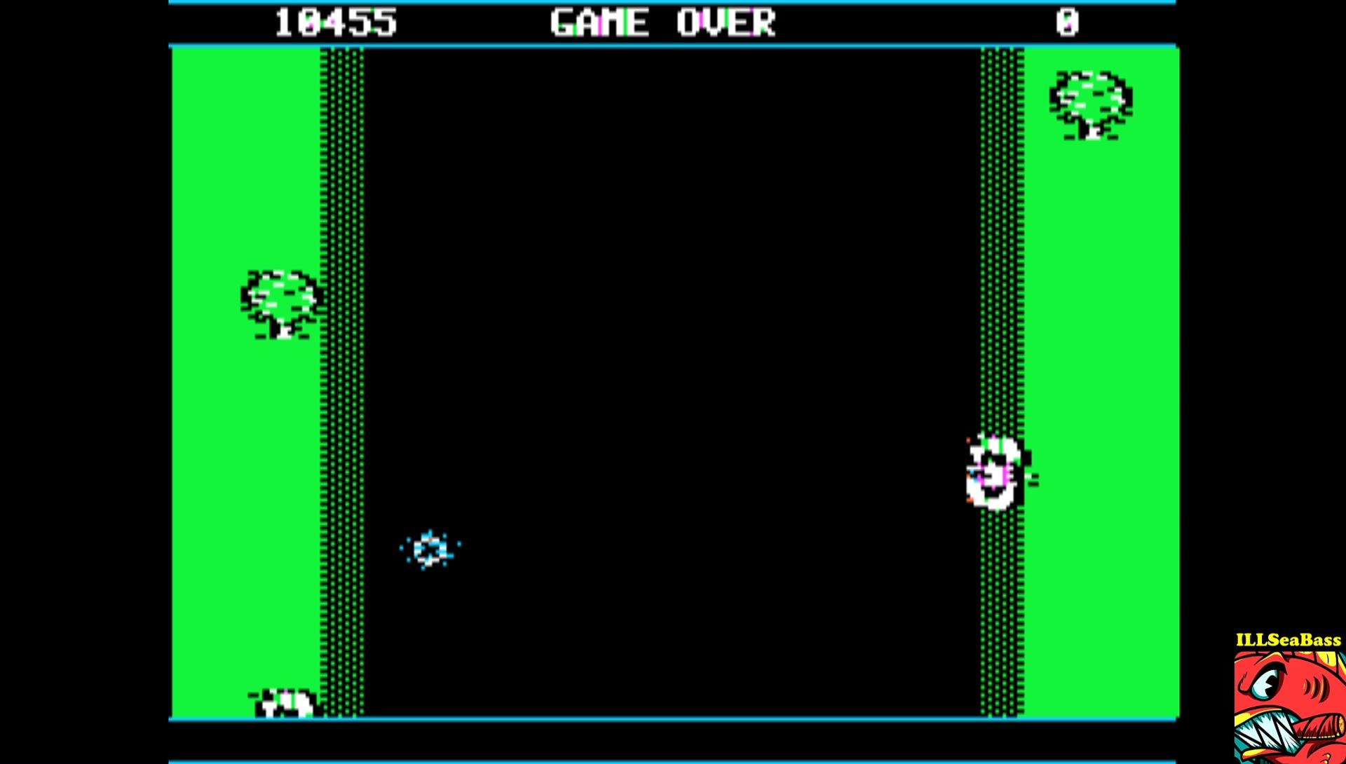 ILLSeaBass: Spy Hunter (Apple II Emulated) 10,455 points on 2017-02-20 23:38:41
