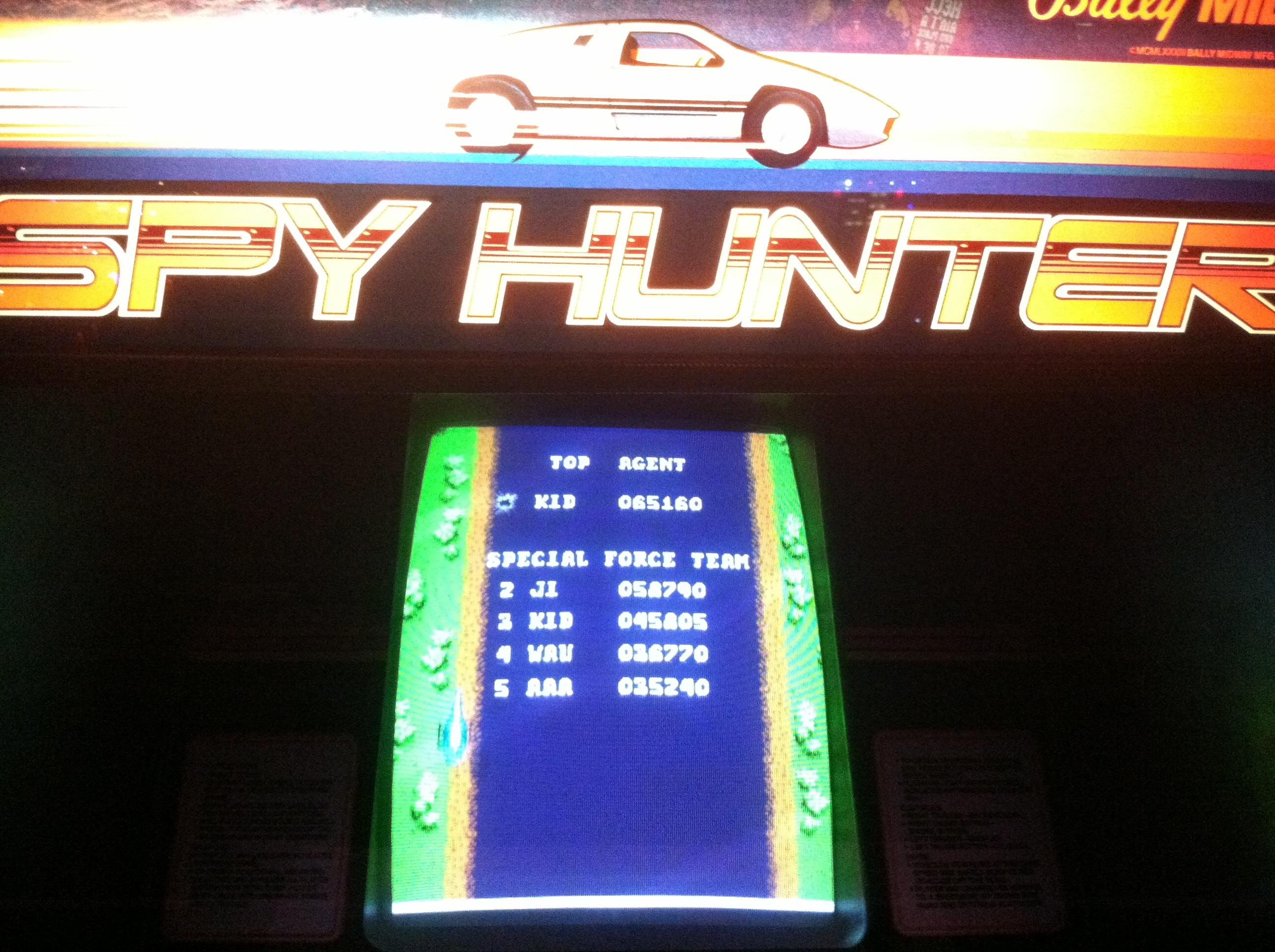 DakotaKid: Spy Hunter (Arcade) 65,160 points on 2018-10-11 19:37:41