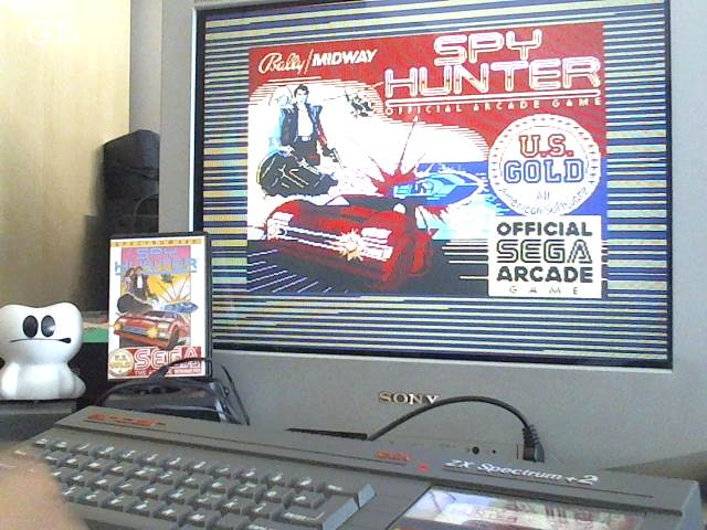 GTibel: Spy Hunter [Expert] (ZX Spectrum) 133,915 points on 2017-06-18 02:21:42