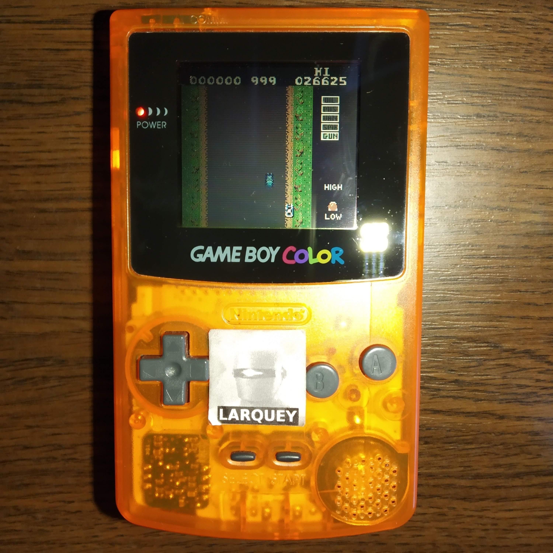 Larquey: Spy Hunter (Game Boy Color) 26,625 points on 2020-07-21 12:04:03