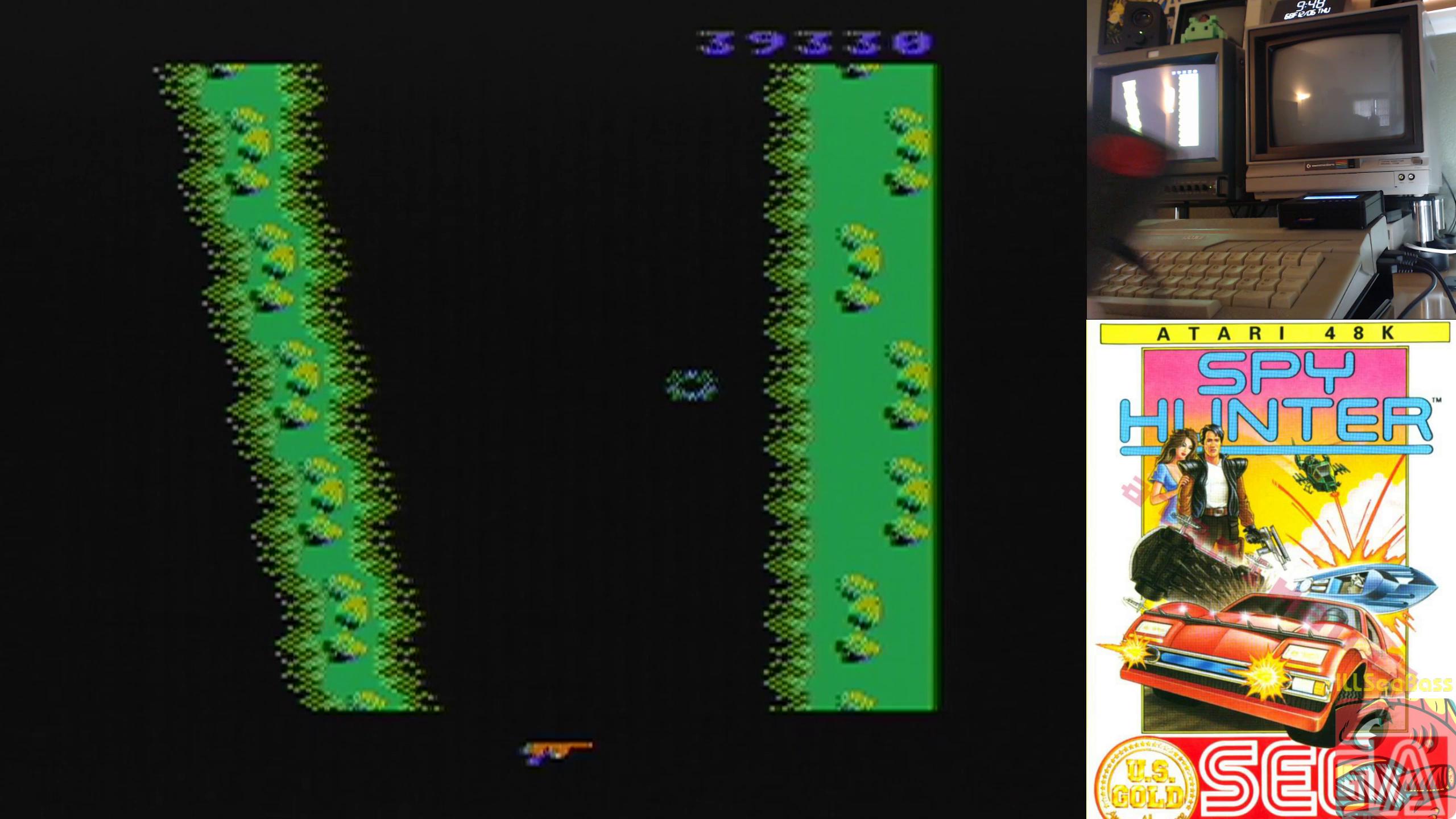 ILLSeaBass: Spy Hunter [Novice] (Atari 400/800/XL/XE) 39,330 points on 2018-12-06 11:27:43