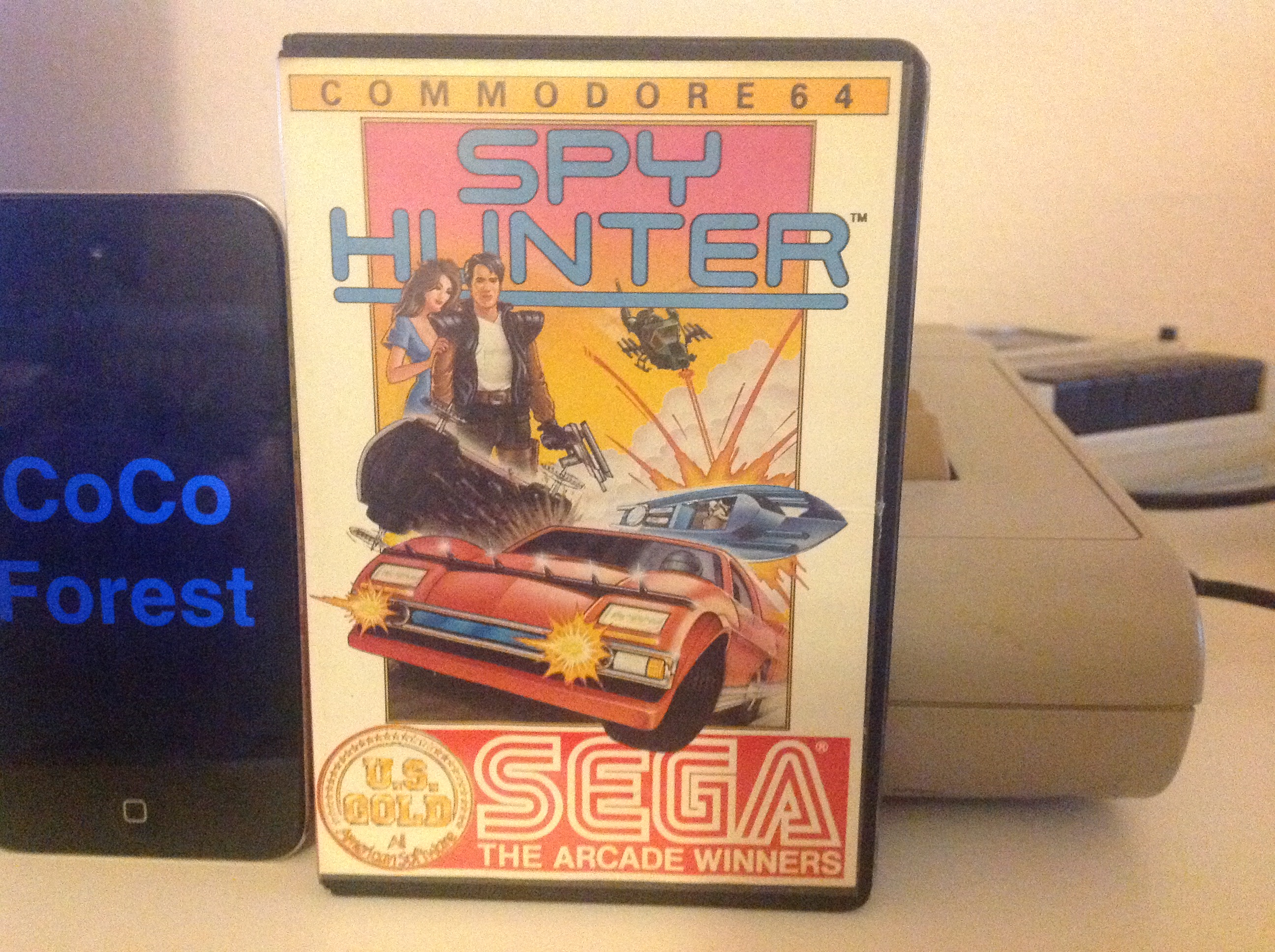 CoCoForest: Spy Hunter: Novice (Commodore 64) 55,660 points on 2015-12-19 05:49:32