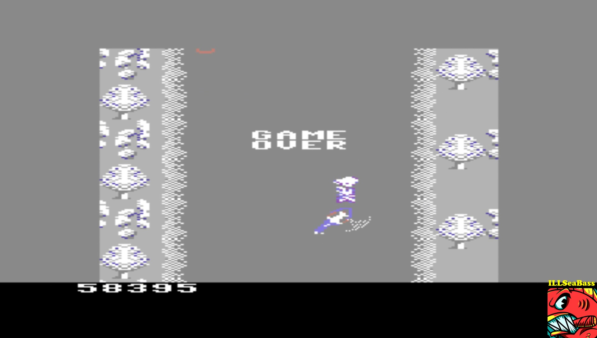 ILLSeaBass: Spy Hunter: Novice (Commodore 64 Emulated) 58,395 points on 2017-03-16 22:39:55