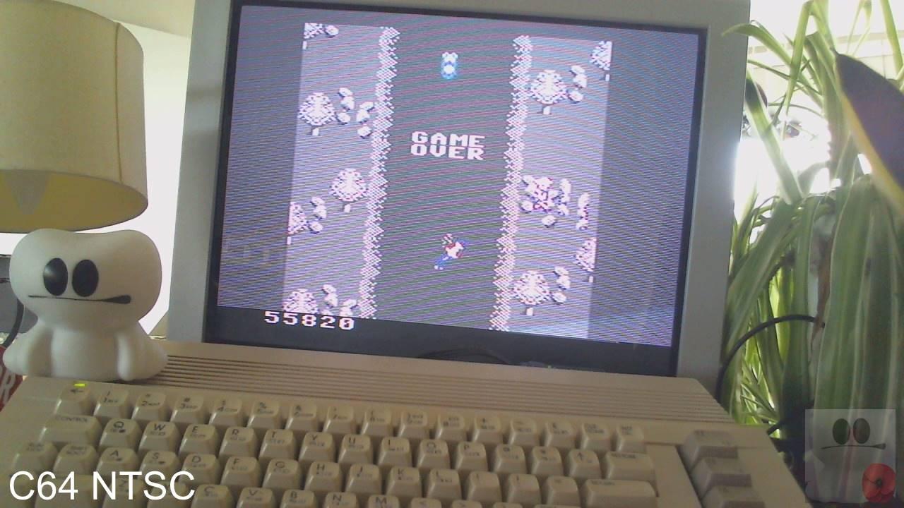 GTibel: Spy Hunter: Novice (Commodore 64) 55,820 points on 2020-03-21 07:20:38