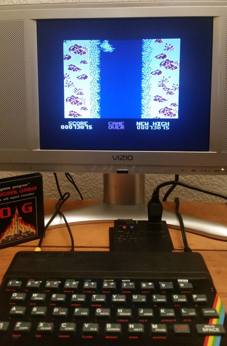 OriginalGamer: Spy Hunter [Novice] (ZX Spectrum) 73,875 points on 2017-12-20 00:16:46
