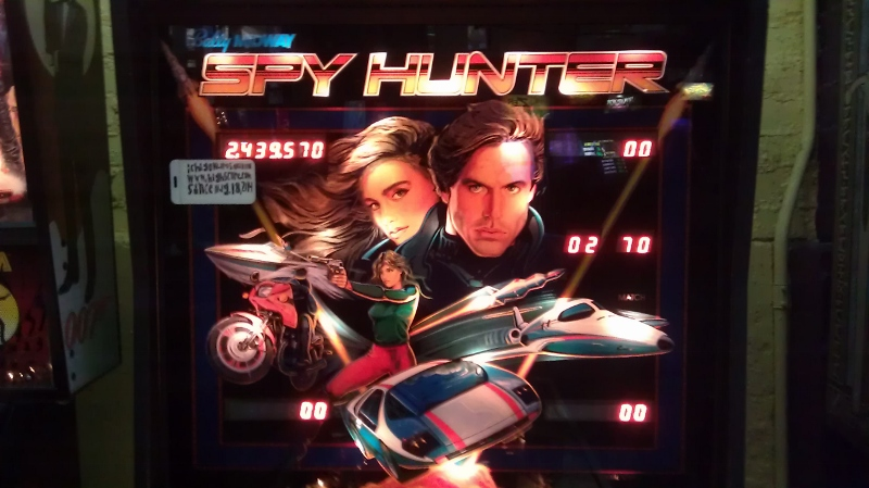 ichigokurosaki1991: Spy Hunter (Pinball: 3 Balls) 2,439,570 points on 2016-04-08 10:02:10