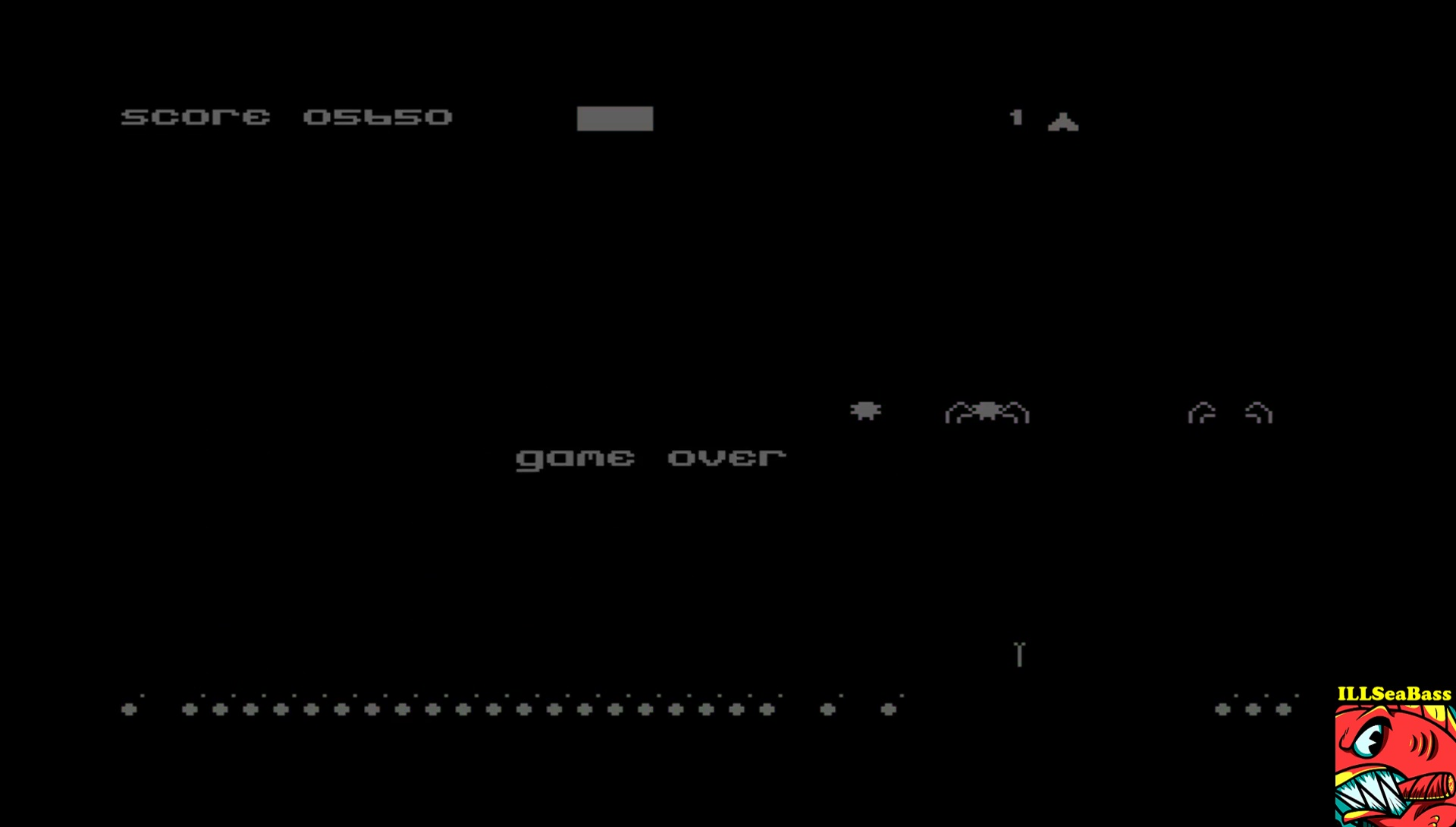 ILLSeaBass: Spyders (Commodore 64 Emulated) 5,650 points on 2017-06-17 08:30:49