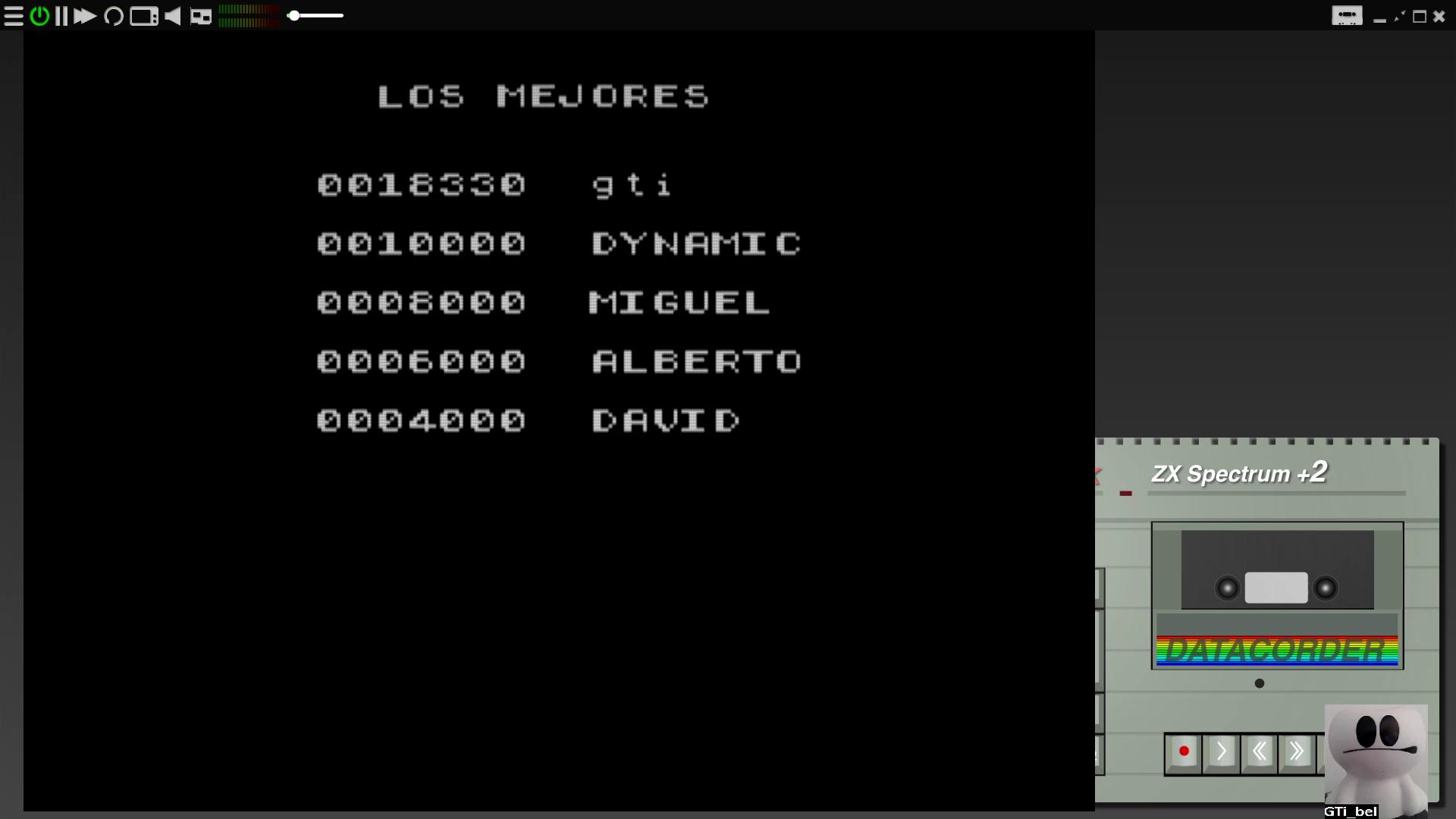 GTibel: Spyship SOS (ZX Spectrum Emulated) 18,330 points on 2020-08-13 02:40:27